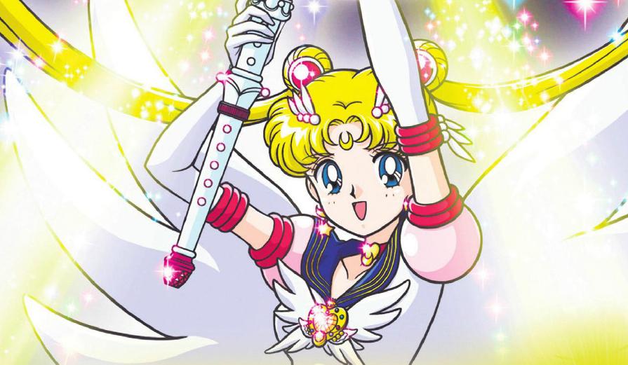 ¡Sailor Moon Sailor Stars en Chile el 11 de abril!