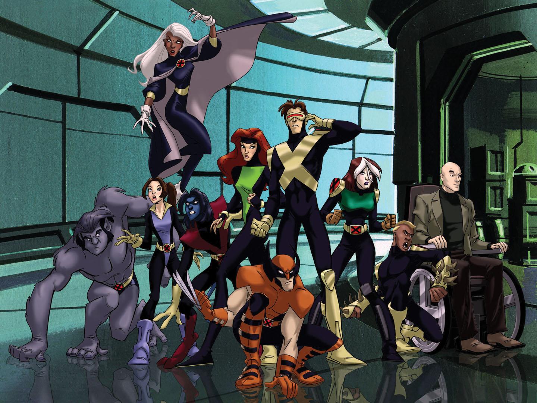 X-MEN: EVOLUTIONImage # XM-002Pictured: Cast Credit: © Warner Bros. 2002
