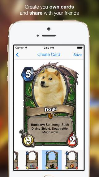hearthstone doge card