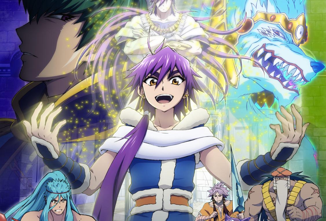 Magi: Sinbad no Bouken tendrá serie de anime en 2016