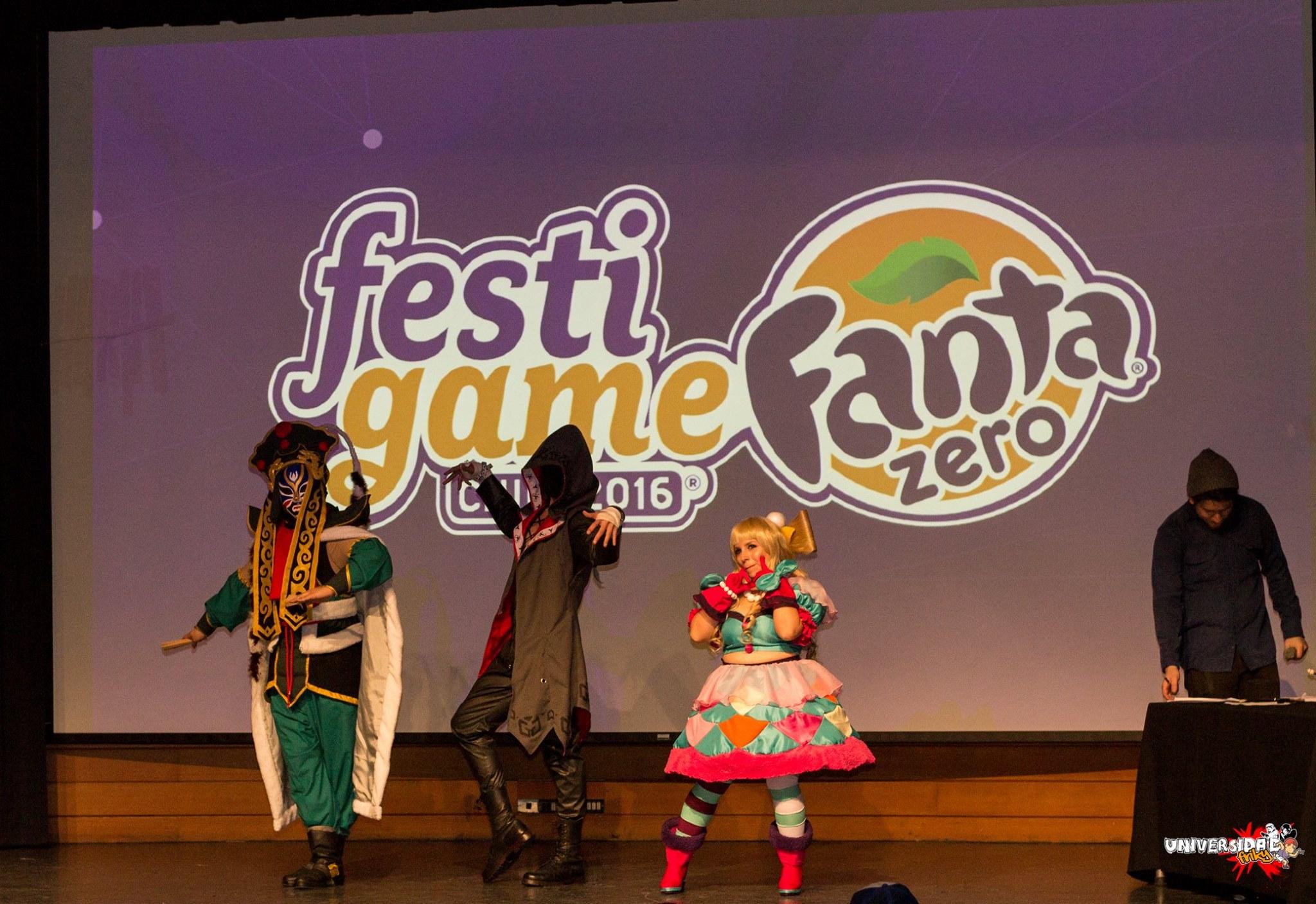 UFriky en la preselección de Torneos y Cosplay de FestiGame Fanta Zero 2016